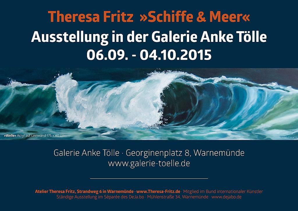 Galerie Anke Tölle Warnemünde - Ausstellung Theresa Fritz