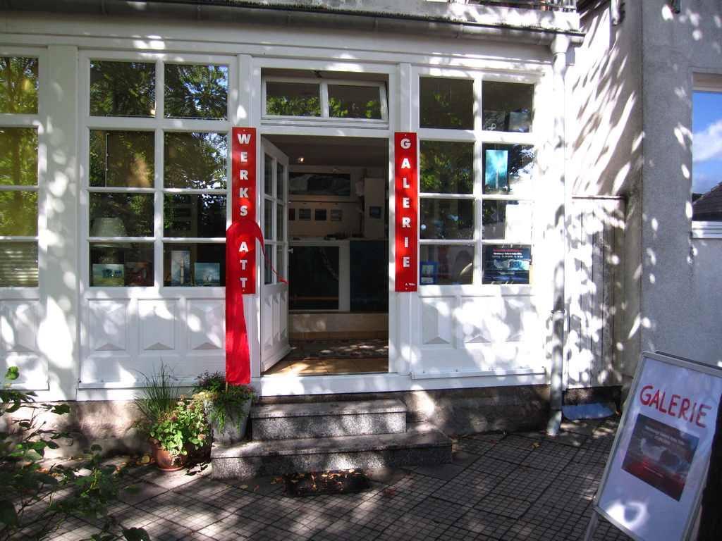 Die Galerie von Anke Tölle am Georgienenplatz in Warnemünde