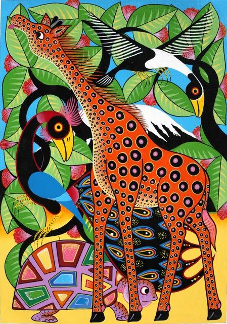 Tingatinga Malerei III